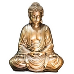 Statue Bouddha Or