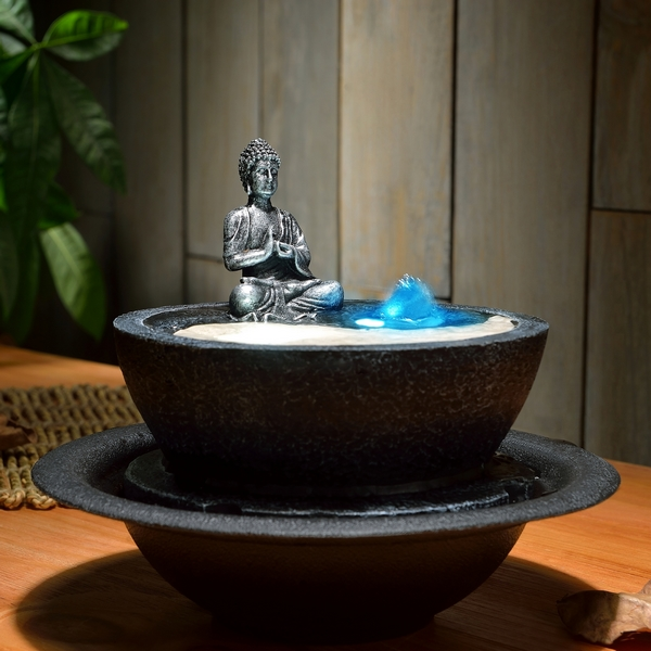 Fournisseur fontaine ying yang d coration zen sunchine for Deco ying yang