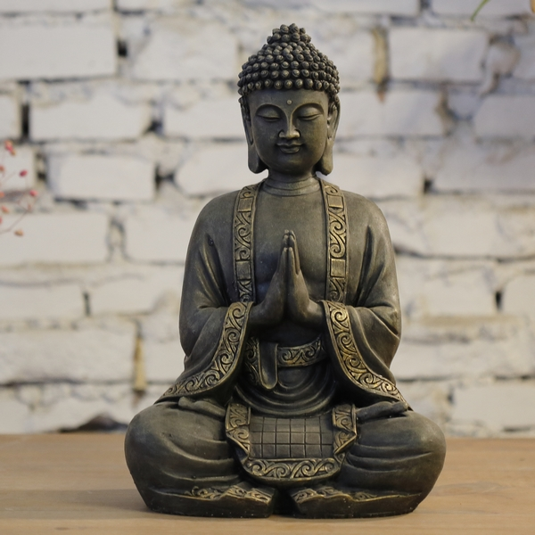 fournisseur statue bouddha d co zen sunchine. Black Bedroom Furniture Sets. Home Design Ideas