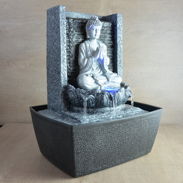 Fabricant fournisseur fontaine statue bouddha m ditation for Fabricant fontaine a eau