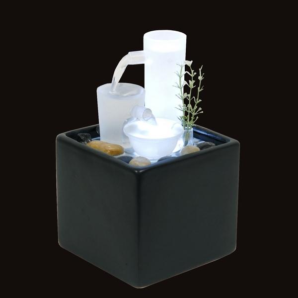 sunchine importateur fontaine d 39 int rieur moderne en verre. Black Bedroom Furniture Sets. Home Design Ideas